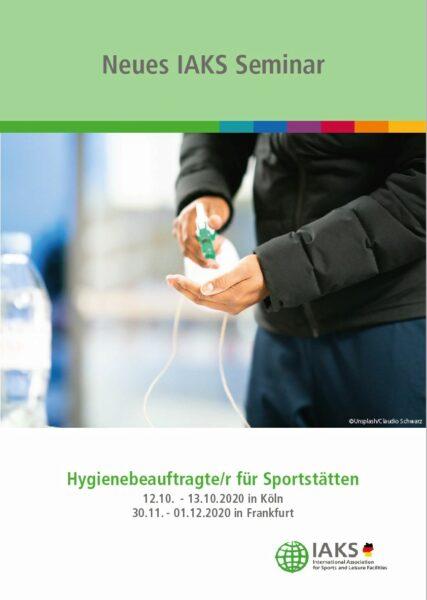 Seminar:Hygienebeauftragte/r für Sportstätten